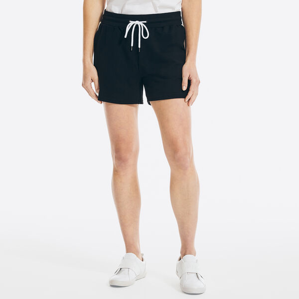 "4"" SUSTAINABLY CRAFTED SIDE-STRIPE SHORT - True Black"
