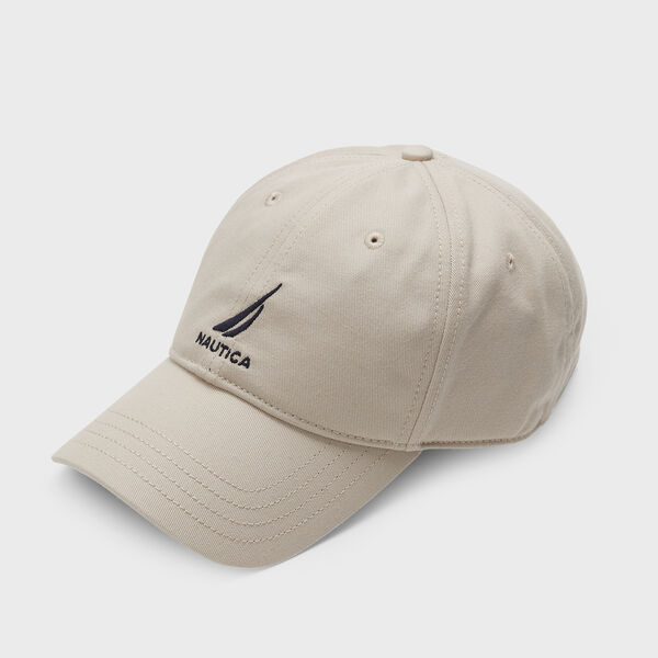 J-CLASS EMBROIDERED CAP - Oat