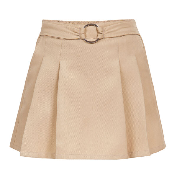GIRLS' PLEATED SCOOTER SKIRT WITH BELT (4-6) - Tavern