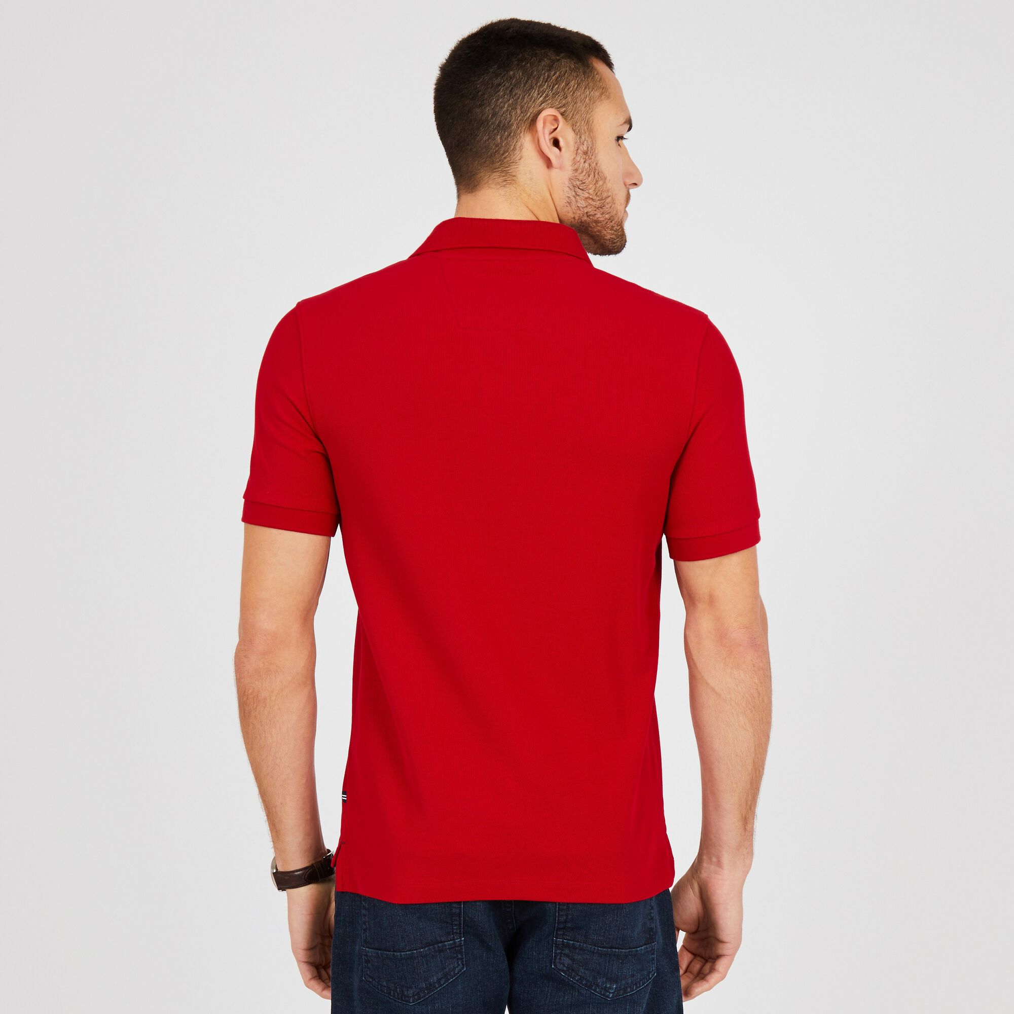 Big Tall Performance Classic Fit Deck Polo Nautica