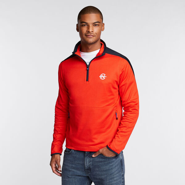 Competition Quarter-Zip Pullover - Firey Red