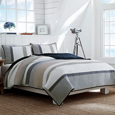 Tideaway Quilt - Raw Umber