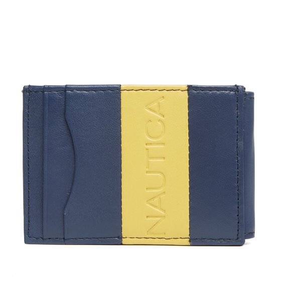 Bayfield Magnetic Slimfold Wallet - Navy
