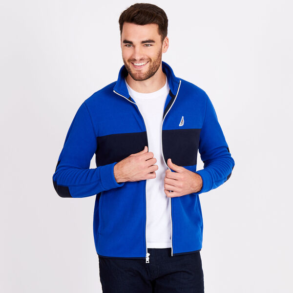 Colorblock Nautex Full-Zip Jacket - Bright Cobalt