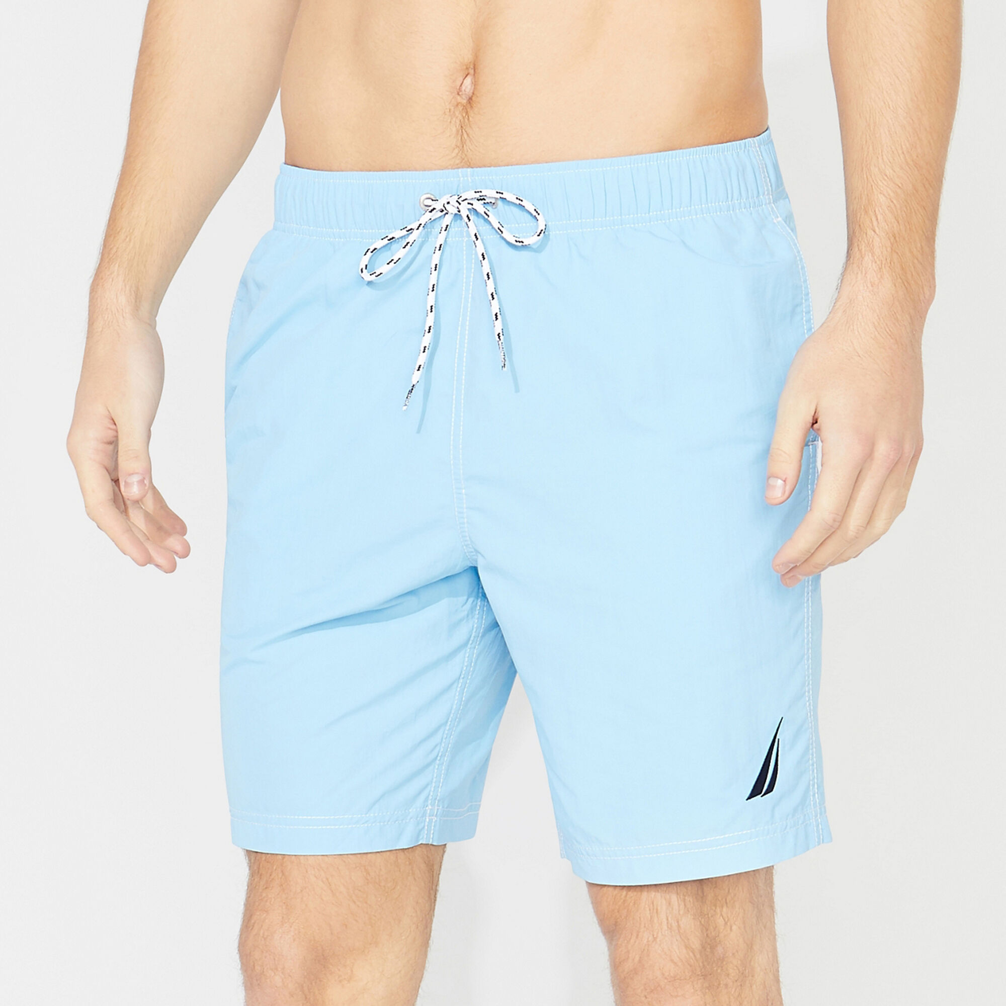 """2X-Large Tall Coral Details about  /Nautica Men/'s 8/"""" Quick Dry Solid Nylon"""