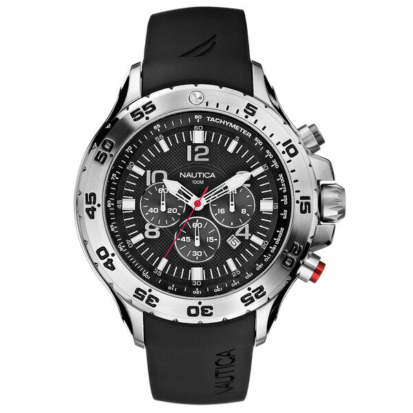 NST Chronograph Watch - Black - Multi