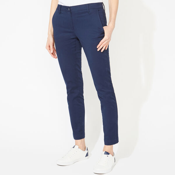 SLIM FIT ANKLE CHINOS - Stellar Blue Heather