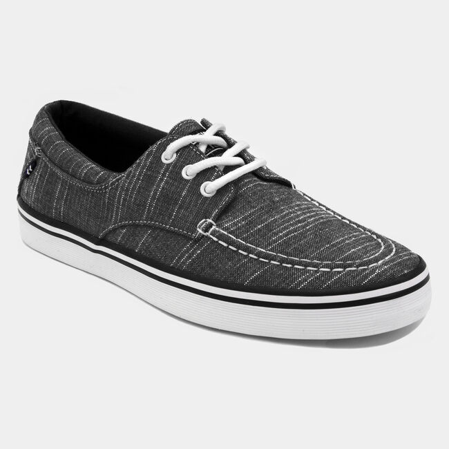 Ablemarle Canvas Sneaker in Black ,True Black,large