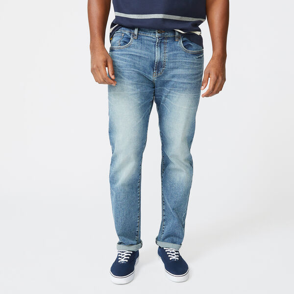 NAUTICA JEANS CO. RELAXED FIT DENIM - Blue Heather
