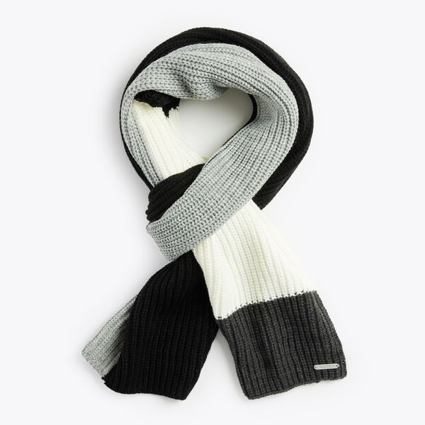 COLORBLOCK SCARF - Rust Blue Wash Outlet