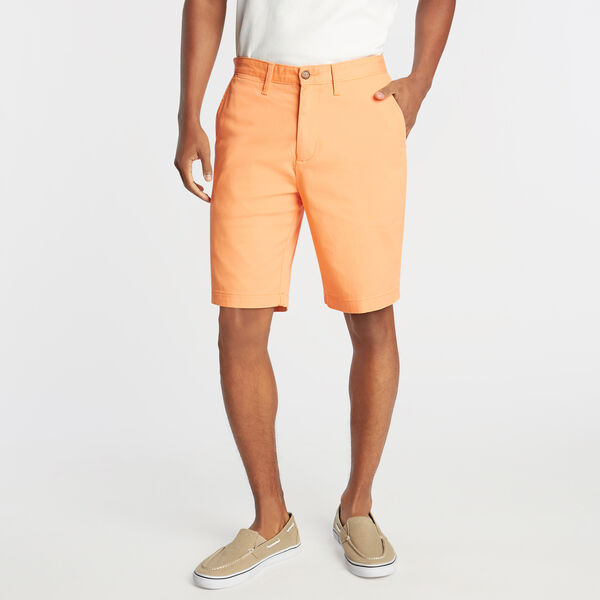 "10"" CLASSIC FIT DECK SHORT WITH STRETCH - Cutty Orange"
