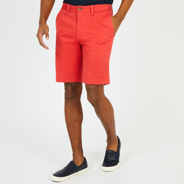 "10"" Slim Fit Stretch Deck Short - Sailor Red"
