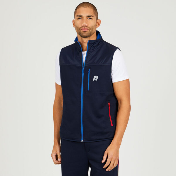 Pop Color Tech Vest - Navy
