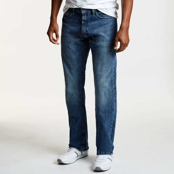 Gulf Stream Wash Relaxed Fit Jeans - Shore Turq