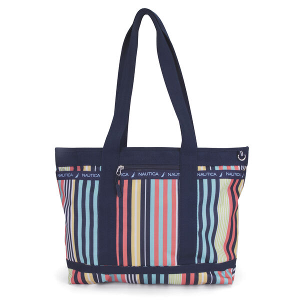 Captain's Quarters Stripe Medium Tote - Multi
