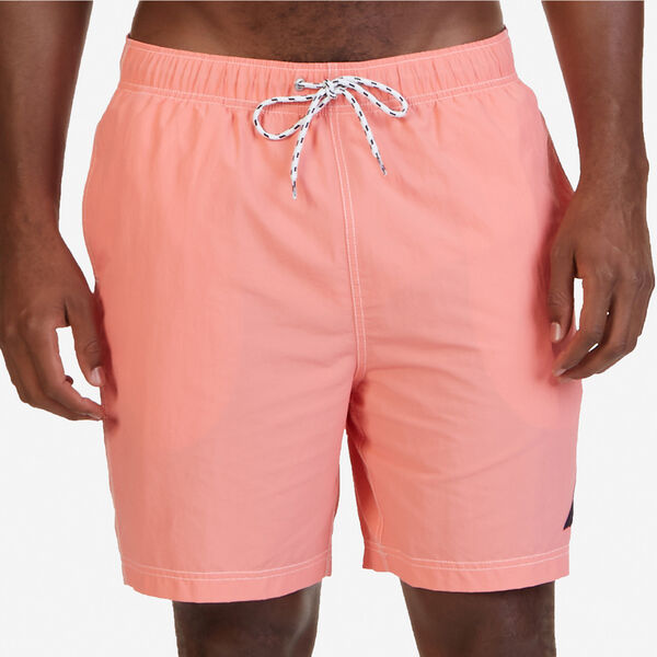 Big & Tall Quick-Dry J-Class Swim Trunks - Pale Coral
