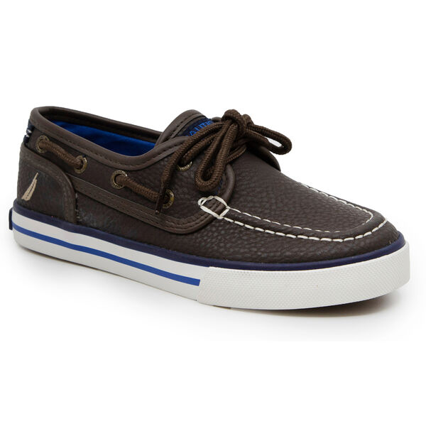 BOY'S SPINNAKER BOAT SHOE - Incense