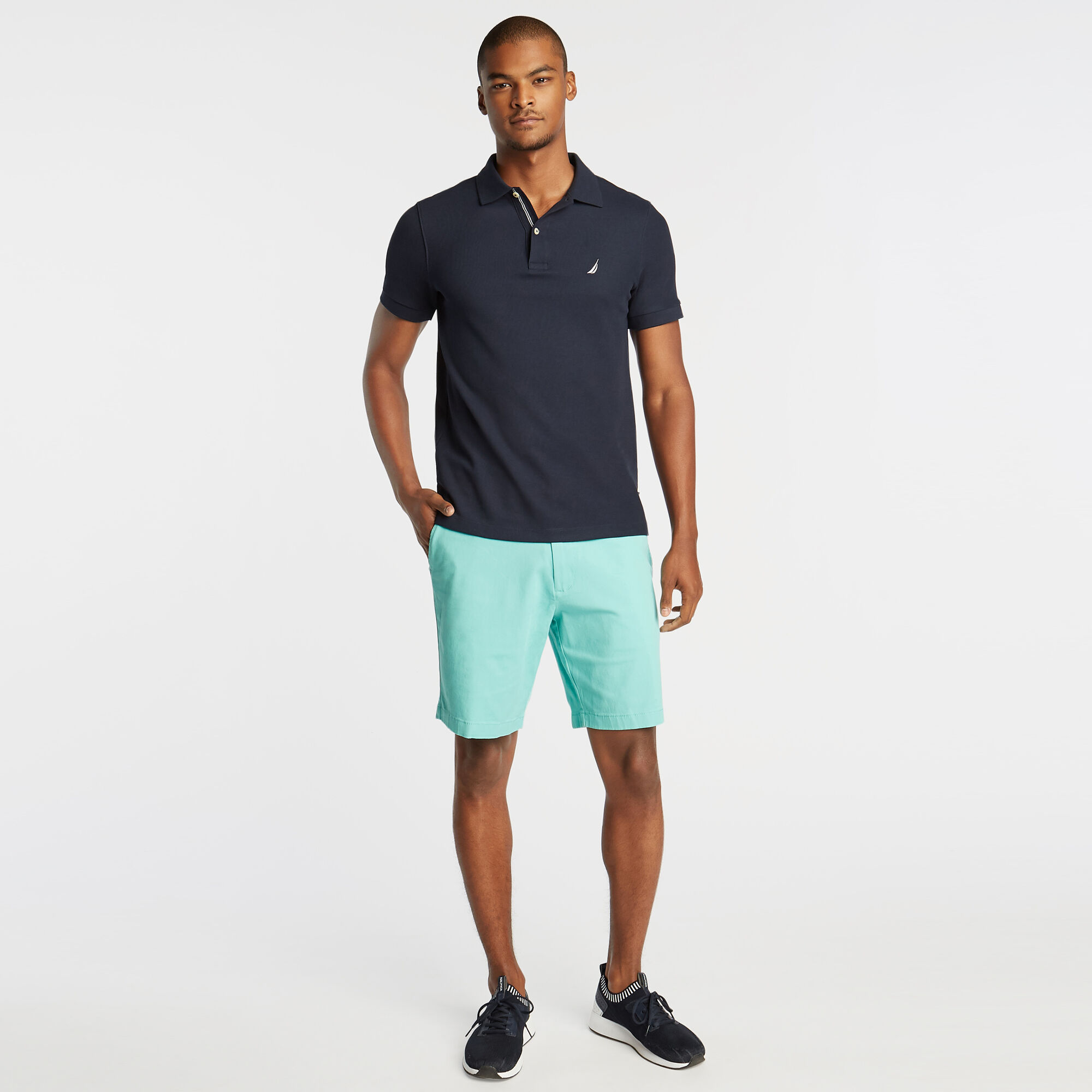 Nautica-Mens-8-5-034-Classic-Fit-Deck-Short-With-Stretch thumbnail 41