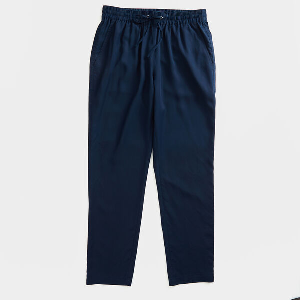 ELASTIC-WAIST PANT - Stellar Blue Heather