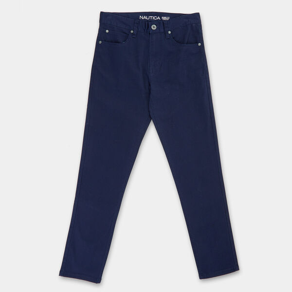 BOYS' 5-POCKET TWILL PANT - Aquadream