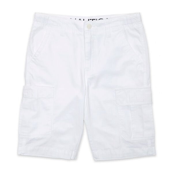 Little Boys' Cargo Shorts (4-7) - Antique White Wash
