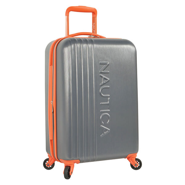 "Lifeboat 20"" Expandable Spinner Luggage - Grey Heather"