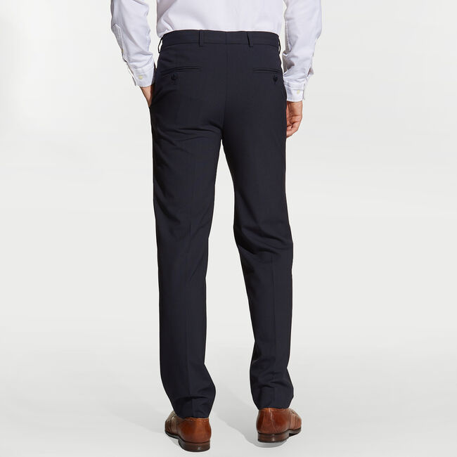 Ceylon Plaid Dress Pants,Tugboat Blue,large