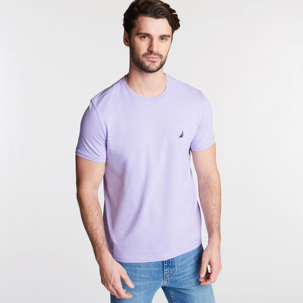 Solid Short Sleeve Crewneck T-Shirt - Camilla Rose