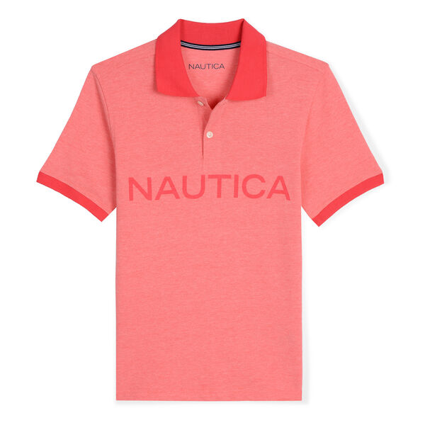 Little Boys' Catch of the Day Polo (4-7) - Camellia Rose