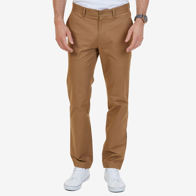 Slim Fit Marina Pants,Oyster Brown,large