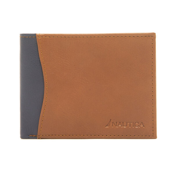 CONWAY SLIM BIFOLD WALLET - Military Tan