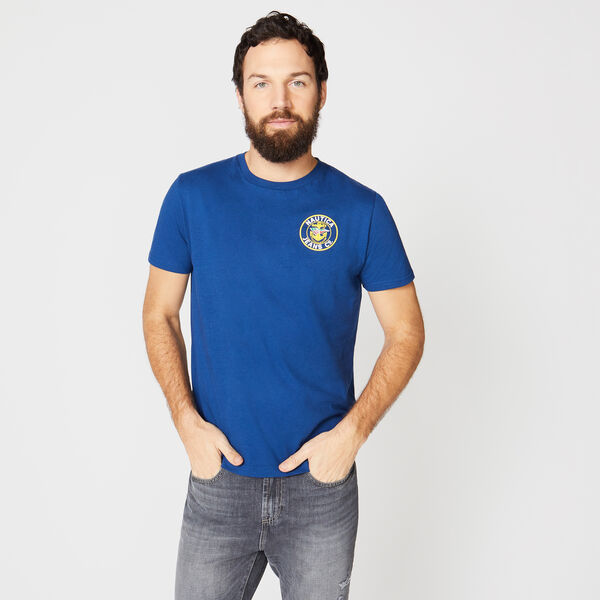 NAUTICA JEANS CO. GRAPHIC TEE - Estate Blue