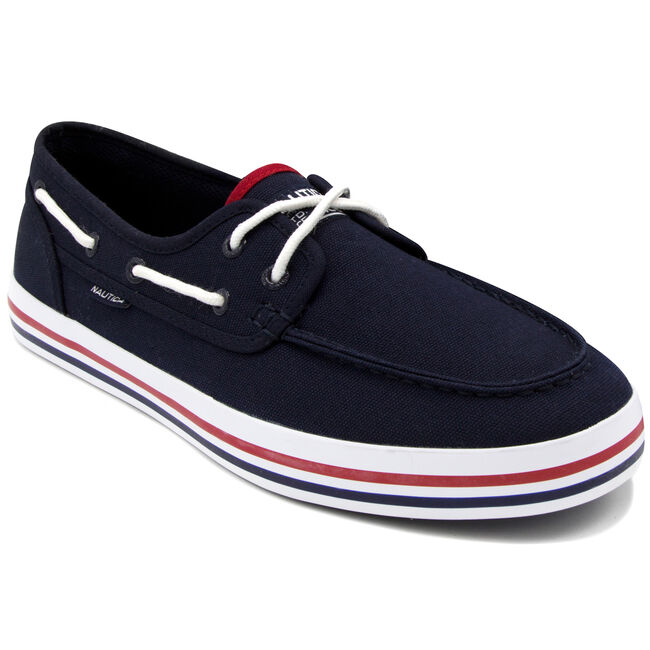 Spinnaker Boat Shoes - Navy,Navy,large