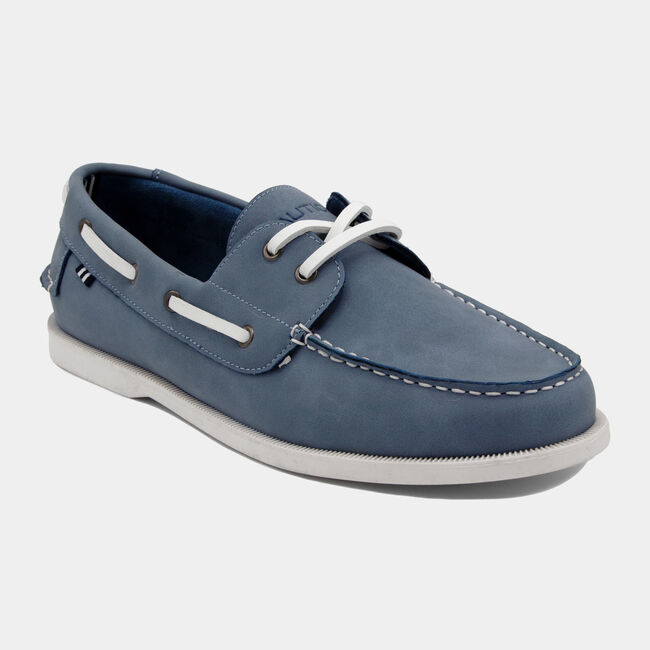 Nueltin 2 Boat Shoe in Light Blue,Prism Light Blue Wash,large