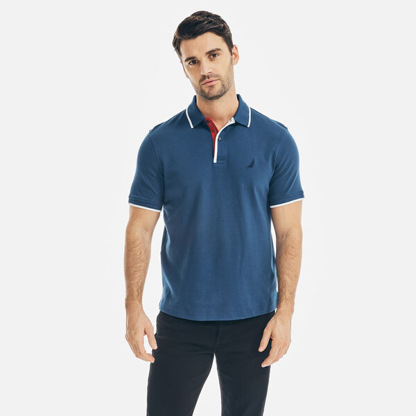 CLASSIC FIT J-CLASS DECK POLO - Estate Blue
