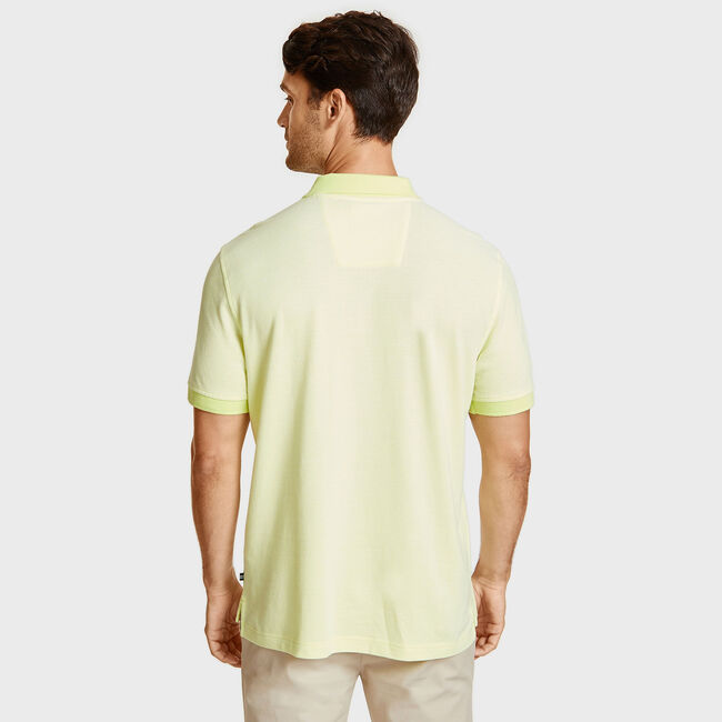 Kailua Short Sleeve Logo Classic Fit Polo,Light Olive,large