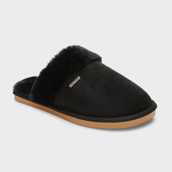 SOMERSBY SUEDE SLIPPERS IN MAUVE - True Black