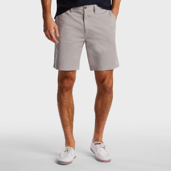"8.5"" CLASSIC FIT DECK SHORT WITH STRETCH - Ocean/Graphite Heather"