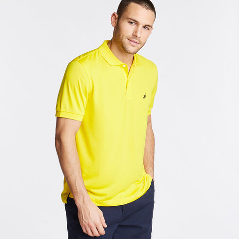 Short Sleeve Classic Fit Performance Polo - Pulp Yellow
