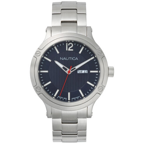 Porthole Slim 3-Hand Stainless Steel Watch - Multi