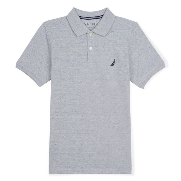 BOYS' ORLANDO DECK POLO - Night Sky