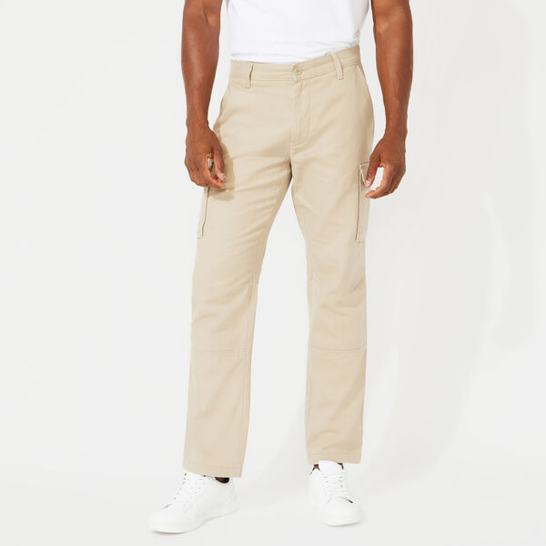 CLASSIC FIT CANVAS CARGO PANTS - True Khaki