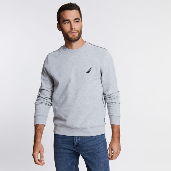 J-Class Logo Sweatshirt - Grey Heather