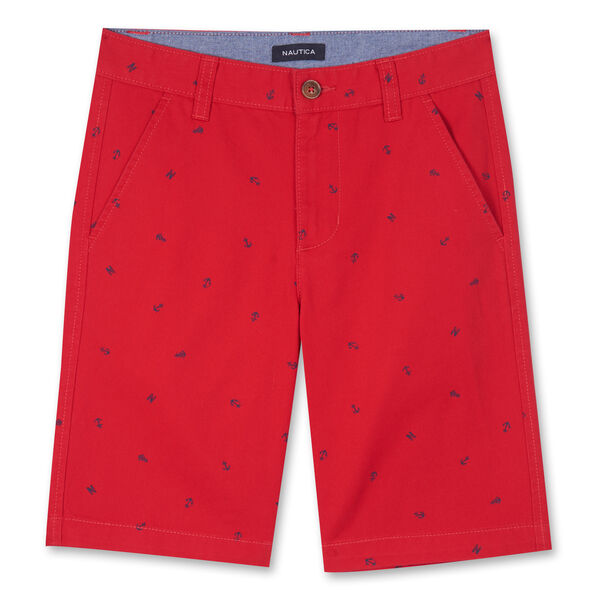 TODDLER BOYS' TATE NAUTICAL PRINTED SHORTS (2T-4T) - Melonberry
