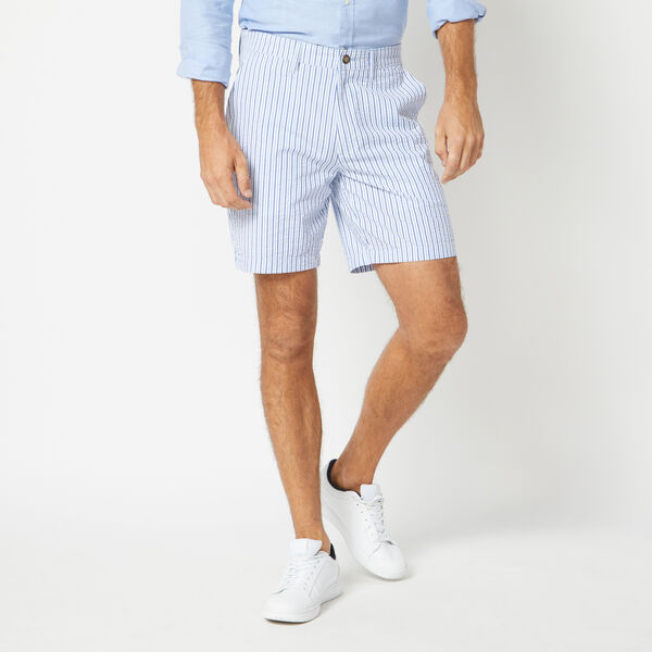 CLASSIC FIT SEERSUCKER SHORTS - Sea Mist