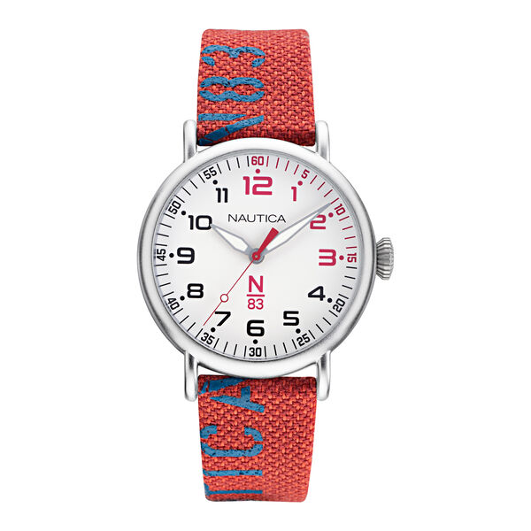 N83 LOVES THE OCEAN LOGO-EMBELLISHED SUSTAINABLE WATCH - Multi