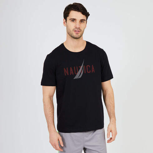 J-Class Short Sleeve Sleep T-Shirt - True Black