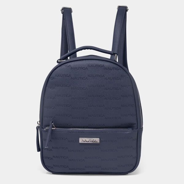 LOGO MINI BACKPACK - Navy