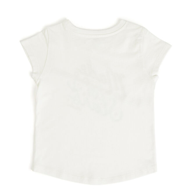 Toddler Girls' Made of Stars Tee (2T-4T),Bright White,large