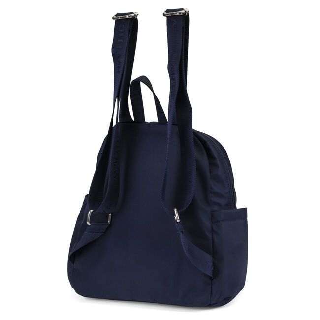 DIVER CANVAS BACKPACK,Navy,large
